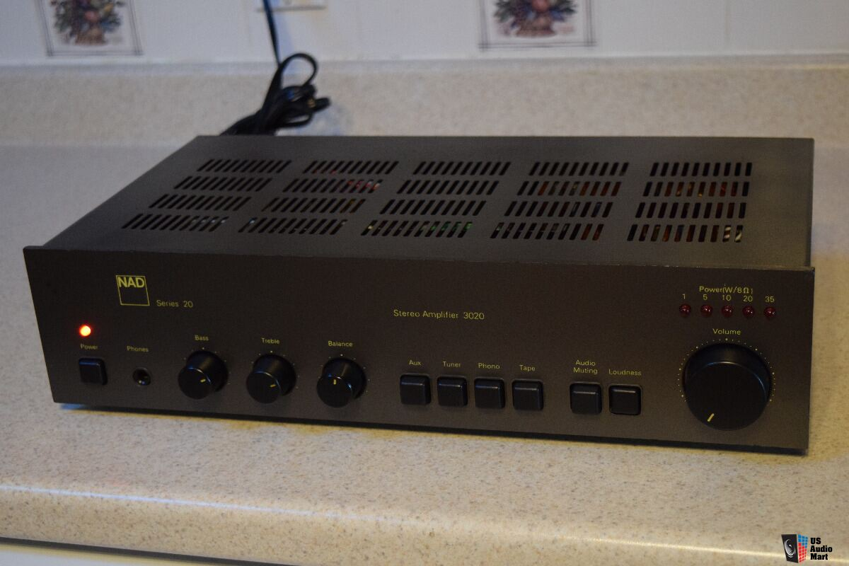 NAD 3020 HI FIDELITY Integrated Amplifier Completely Restored