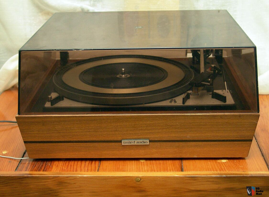 United Audio Dual 1218 Turn Table Record Player For Parts