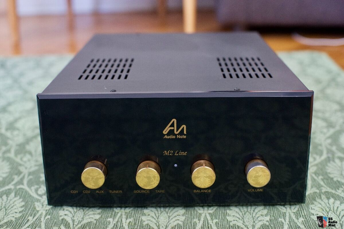 Audio Note M2 Line Special Edition tube preamp - PRICE DROP