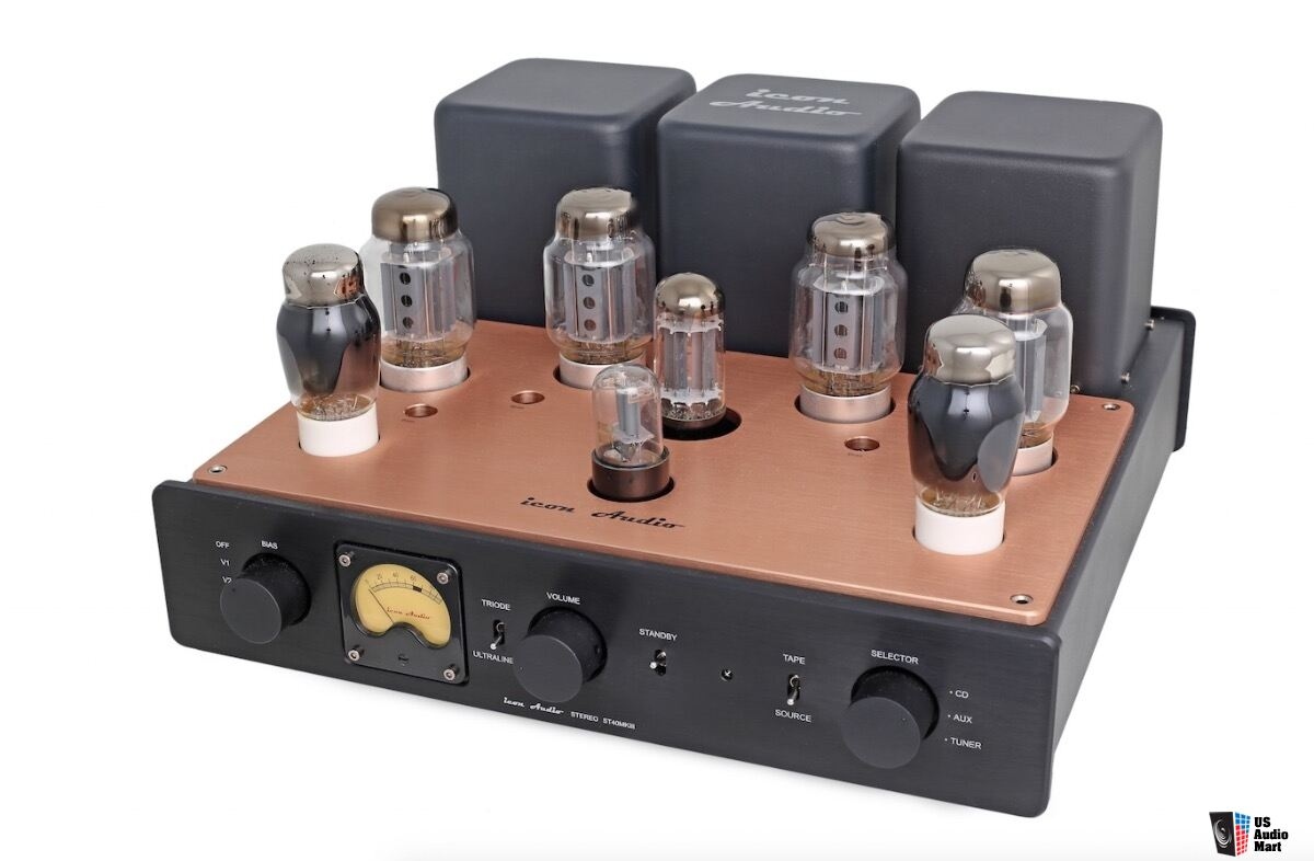 ICON AUDIO - Stereo 40 MkIII M Tube Integrated Amp
