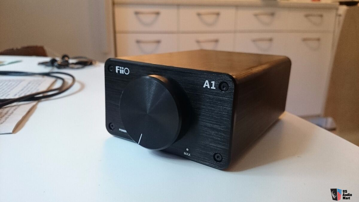 Fiio Speaker integrated amp A1