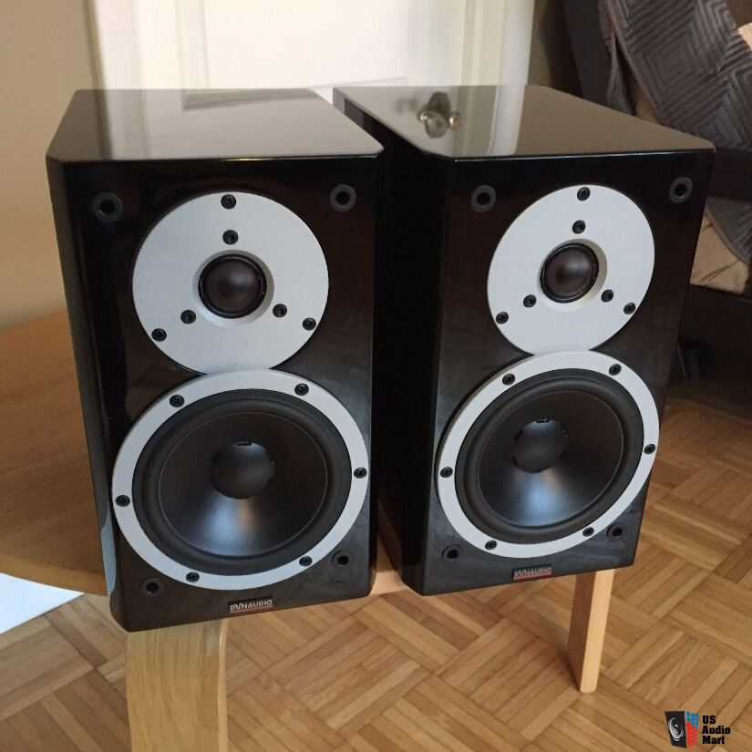 Dynaudio Excite X12 Speakers (pair) High-Gloss Black, Used, Excellent Cond'n, *Free Shipping