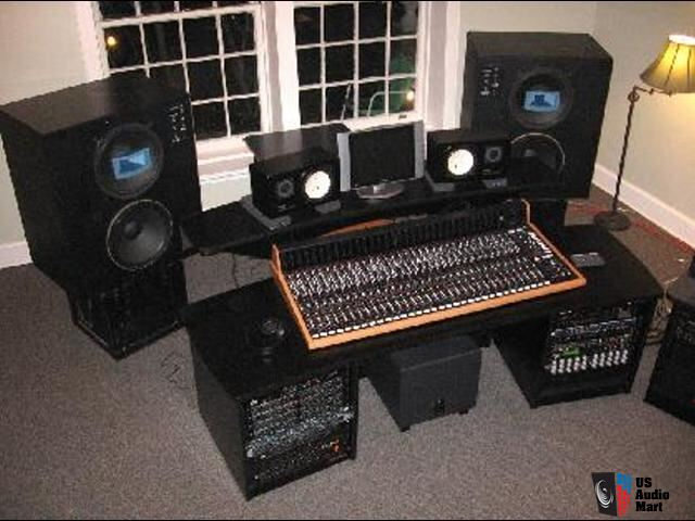 Studio equipment for sale trident series 8t 32 channel for Home with recording studio for sale