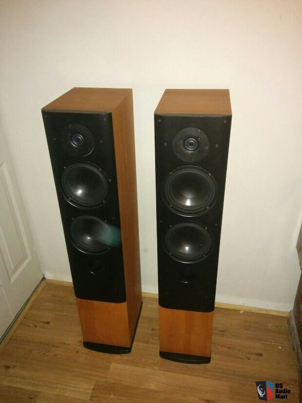 snell e5 audiophile speakers photo  1441498