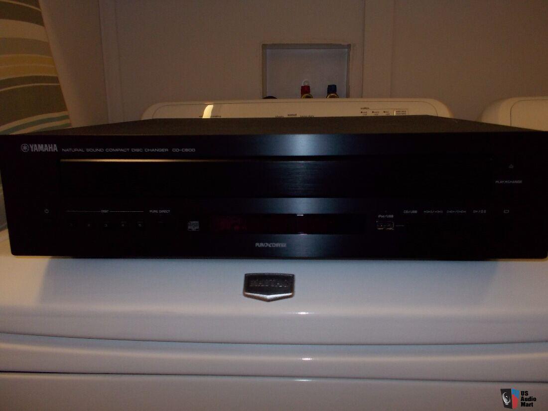 yamaha cd c600 cd changer player photo 1459861 canuck. Black Bedroom Furniture Sets. Home Design Ideas