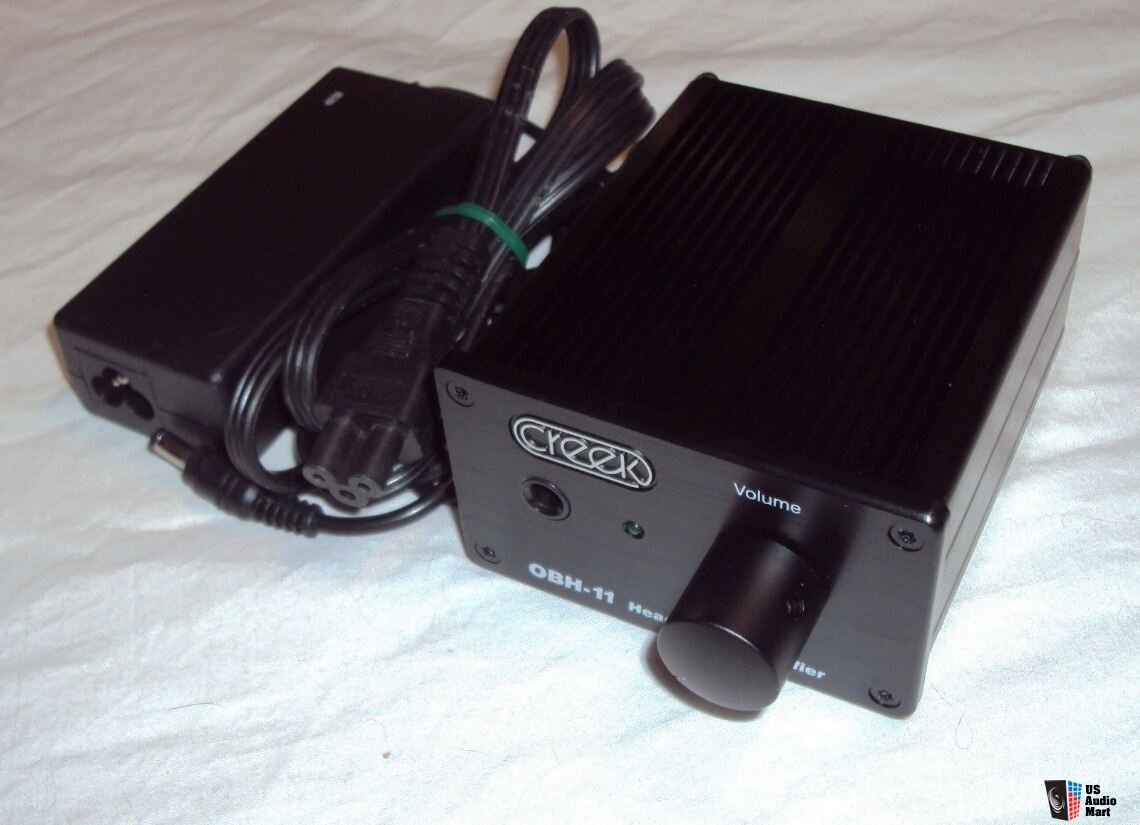 New Fully Modified Creek Obh 11 Headphone Amp W Discrete Op Amps Wiring
