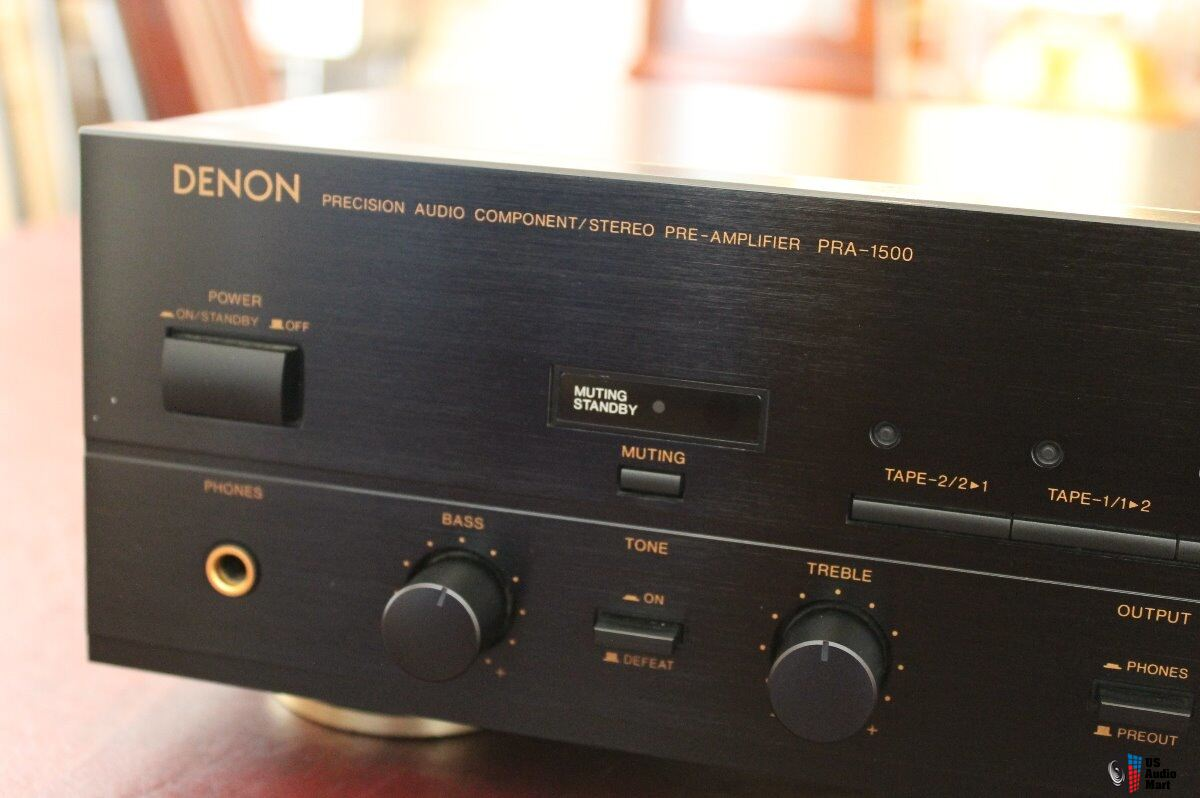 Denon PRA-1500 stereo preamplifier Photo #1486227 - US