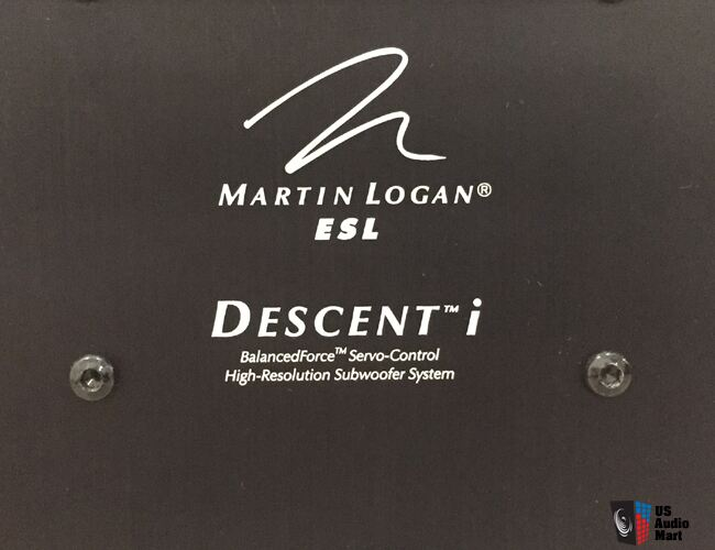 Martin Logan Descent i Subwoofer