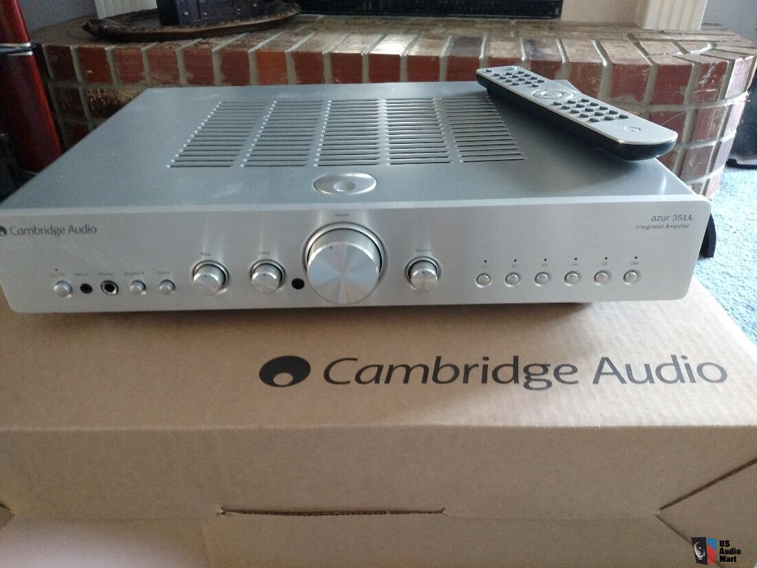 Cambridge Audio Azur 351A Integrated Amplifier, Silver