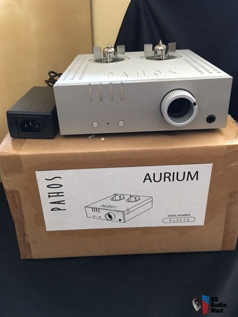 Pathos Acoustics Aurium Tubed Headphone Amp
