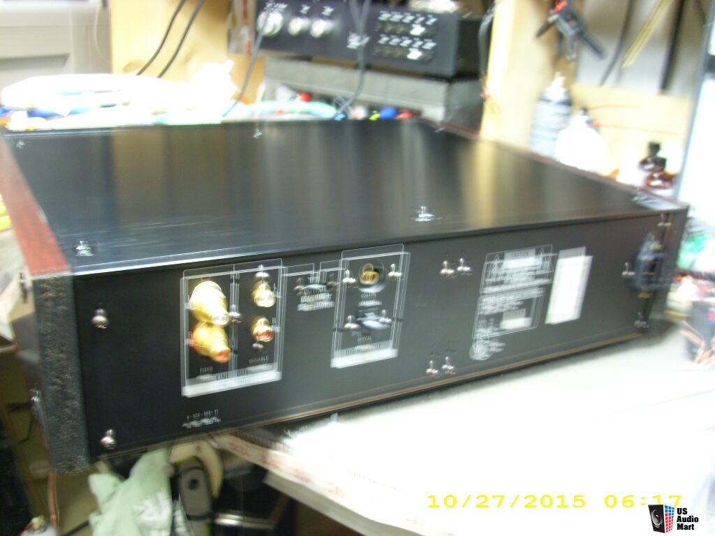 Sony CDP-707ESD with upgrades