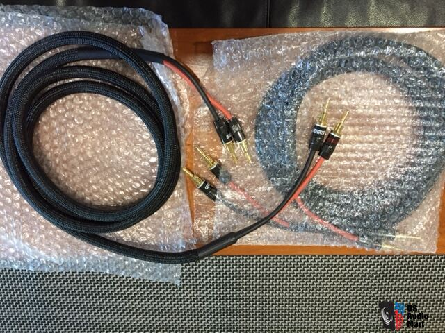 CEntrance Speaker Cables 8' pair with banana ends