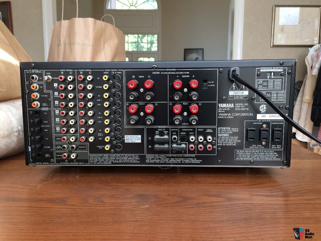 Yamaha Dsp A 1 7 Channel Digital Signal Processor And