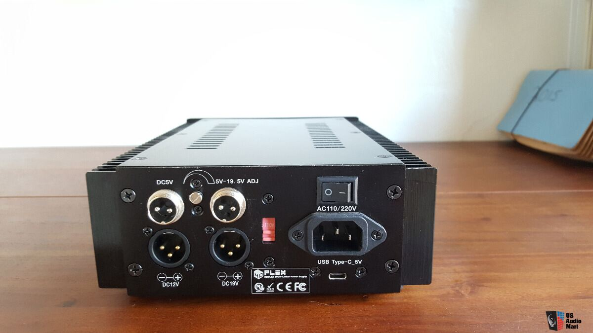 FOR SALE: HDPlex HD Plex 100W DC Linear Power Supply - 19v