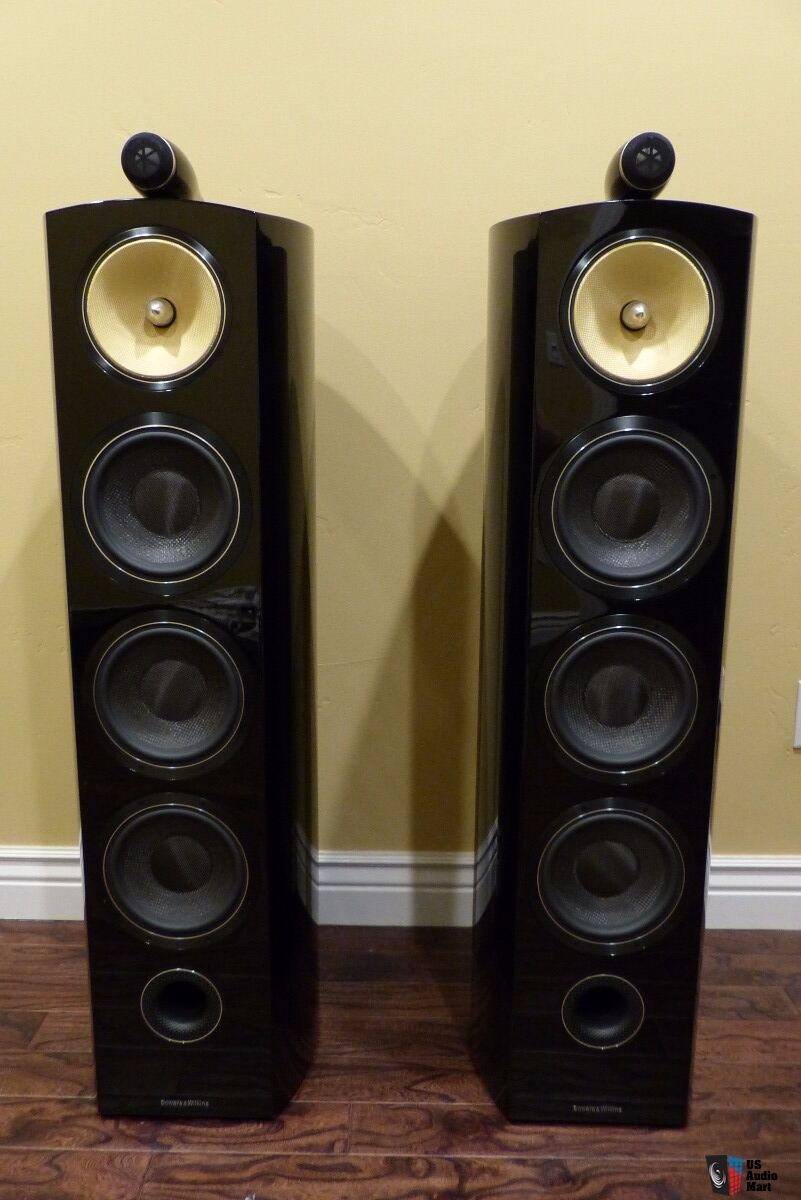 B&W Bowers Wilkins 803 D2 803D2 Diamond Speakers Piano
