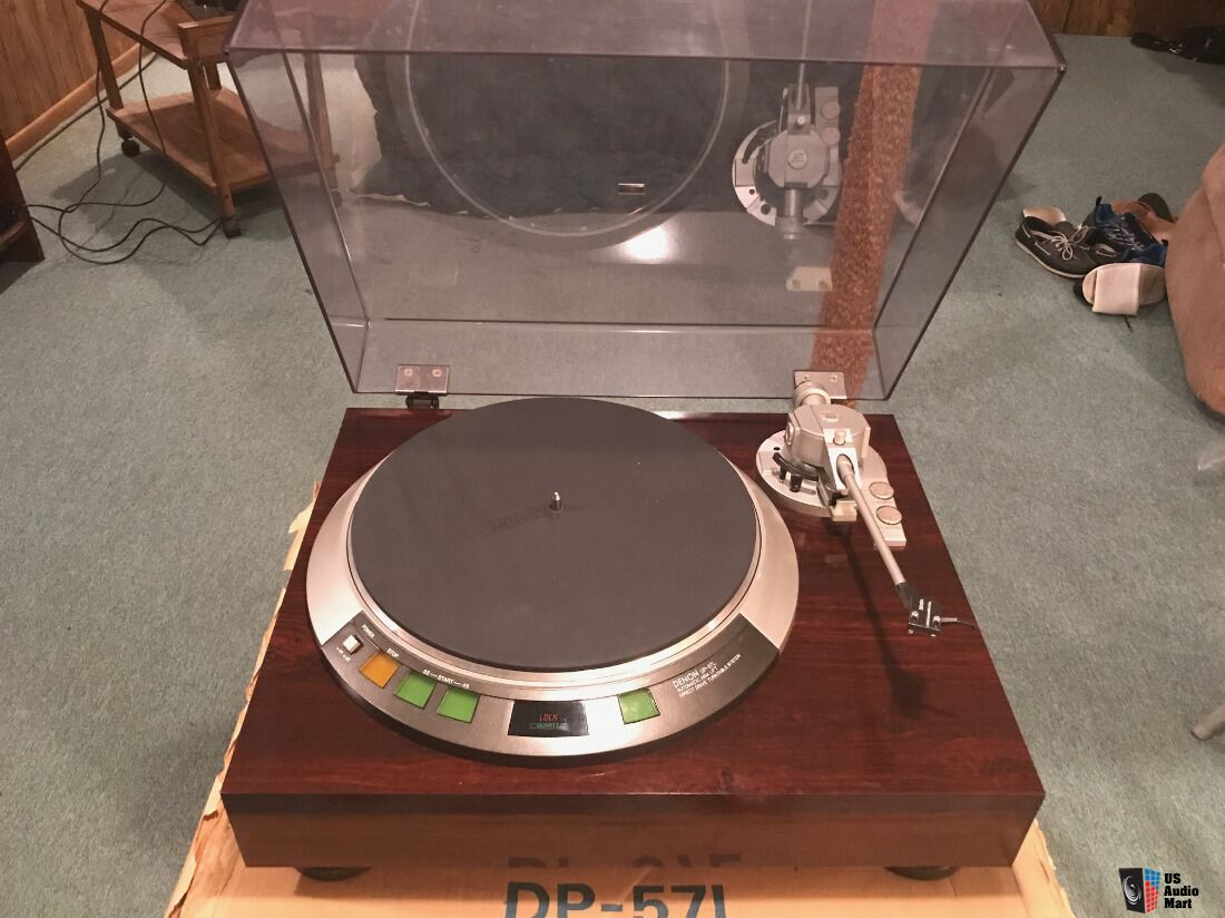 Denon Direct Drive DP-57L Turntable
