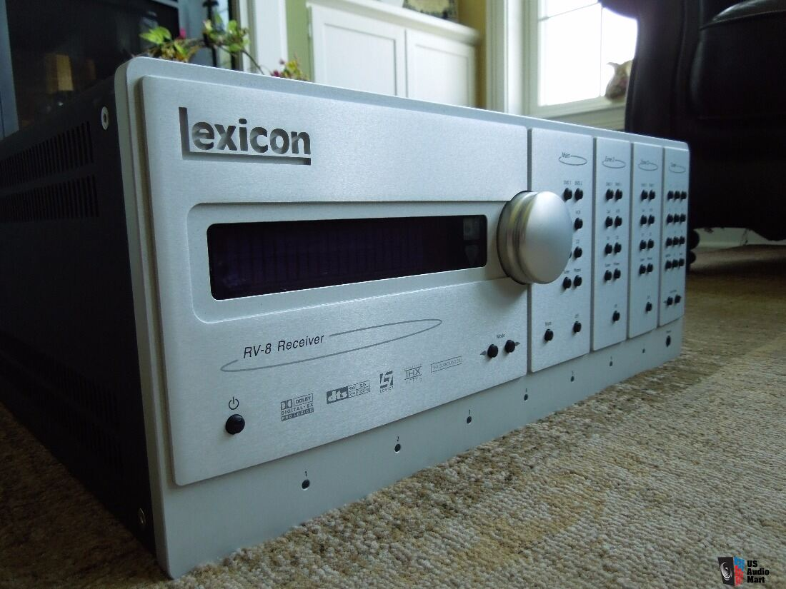 Lexicon RV-8 AVR still the BEST AVR money can buy !