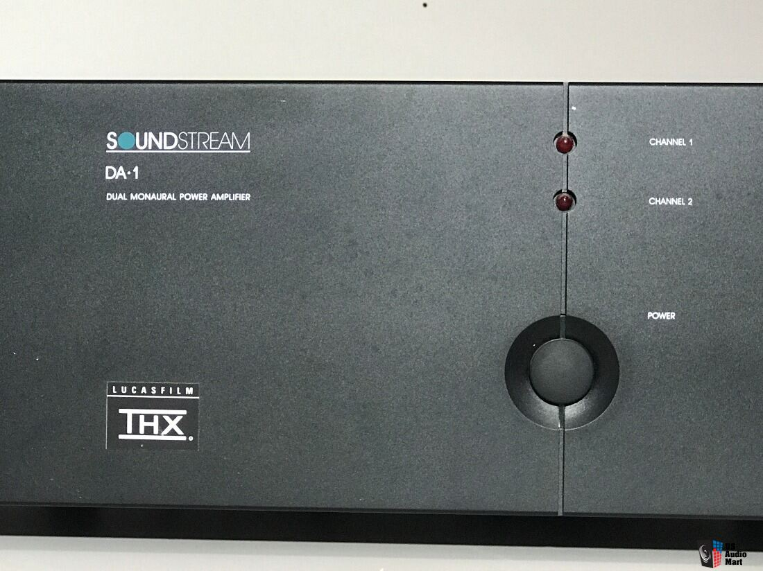 Set of Three Soundstream DA-1 Amplifiers Designed by Krell