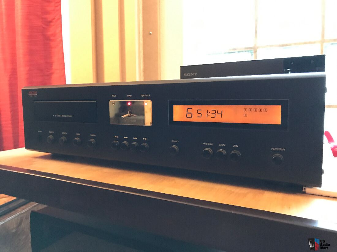 adcom gcd 750 cd hdcd player in mint shape inc remote manual rh usaudiomart com