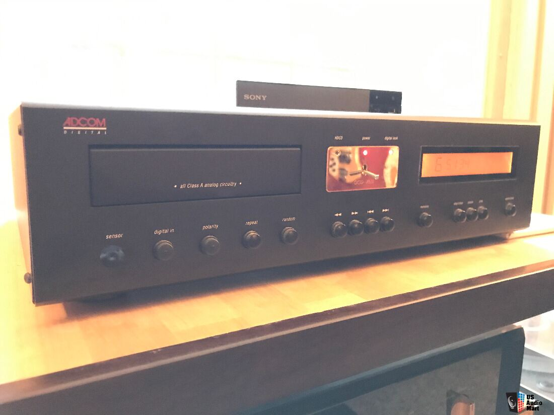 adcom gcd 750 cd hdcd player in mint shape inc remote manual rh ukaudiomart com