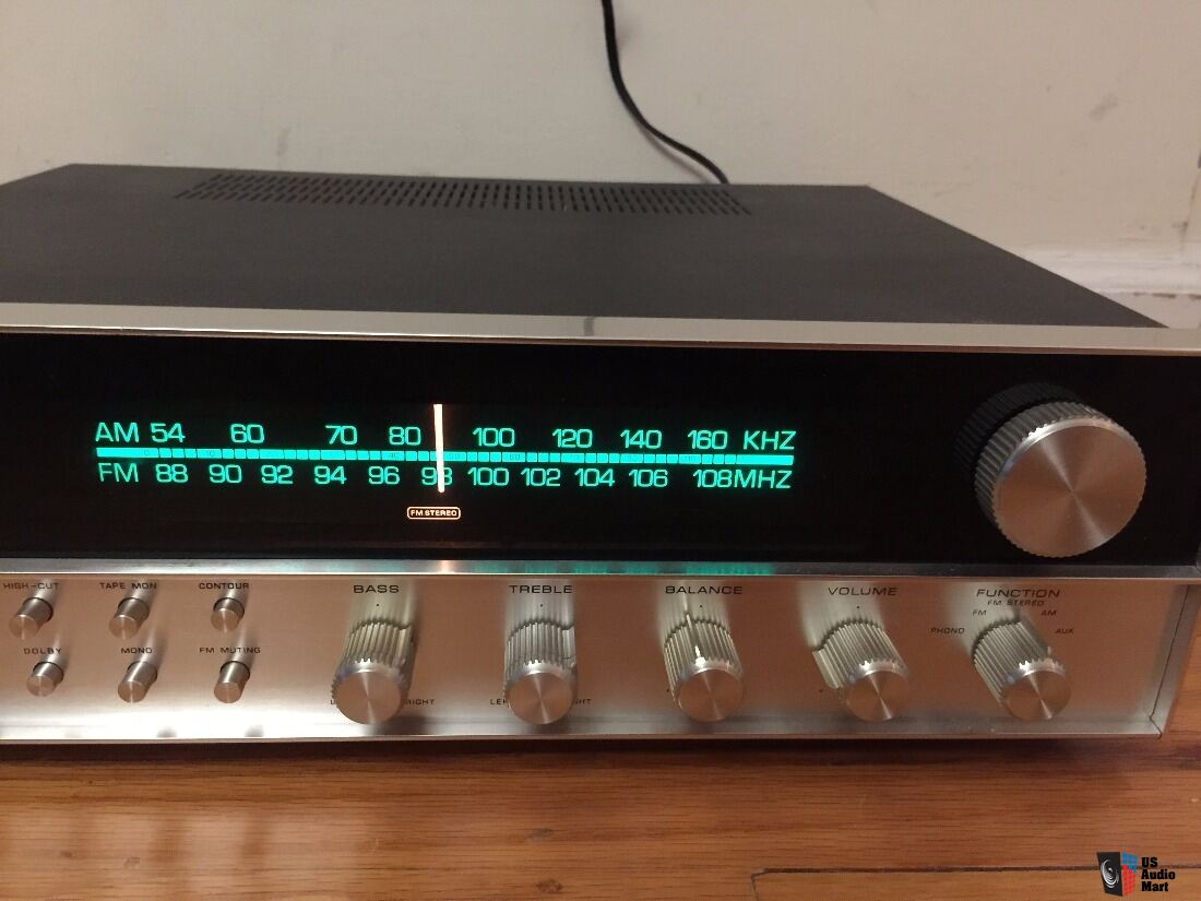 Vintage HARMAN KARDON HK-630 - Twin Power Receiver.  Full Working. Serviced. Clean
