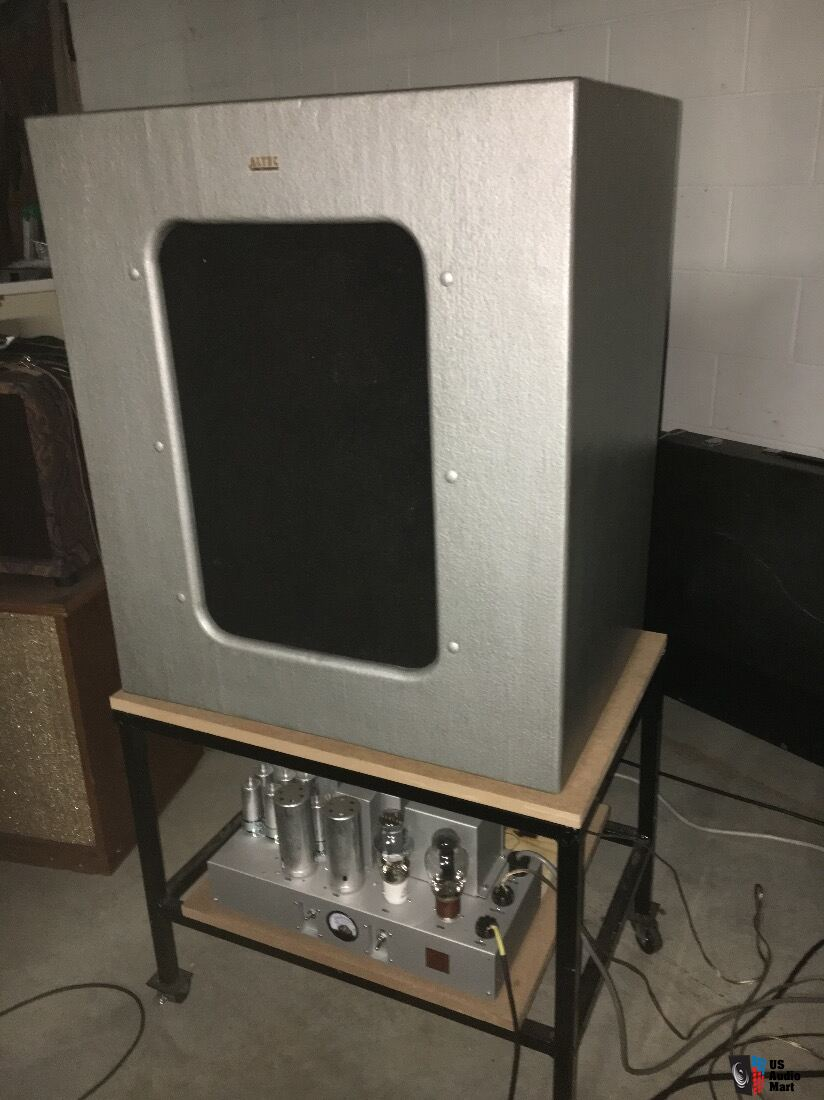 Altec 604 e Altec 612 cabinet Western Electric 91a SET amp ...