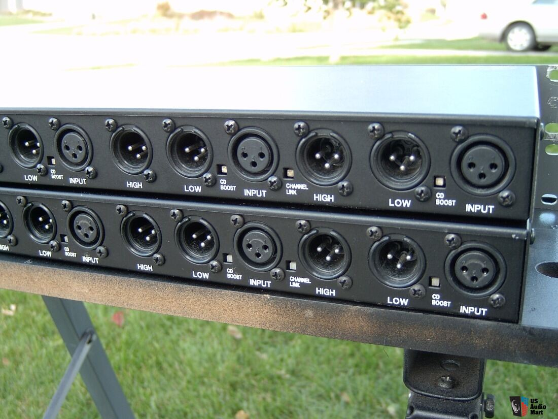 TDM 4 ch 24dB/octave crossover Photo #1684456 - UK Audio Mart