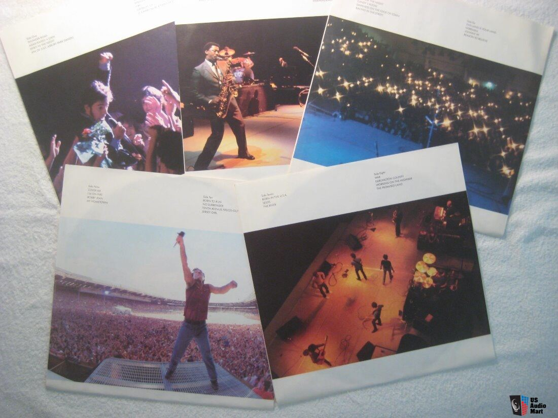 Bruce Springsteen Live 1975-1985 - Bruce Springsteen and E Street Bank 1986
