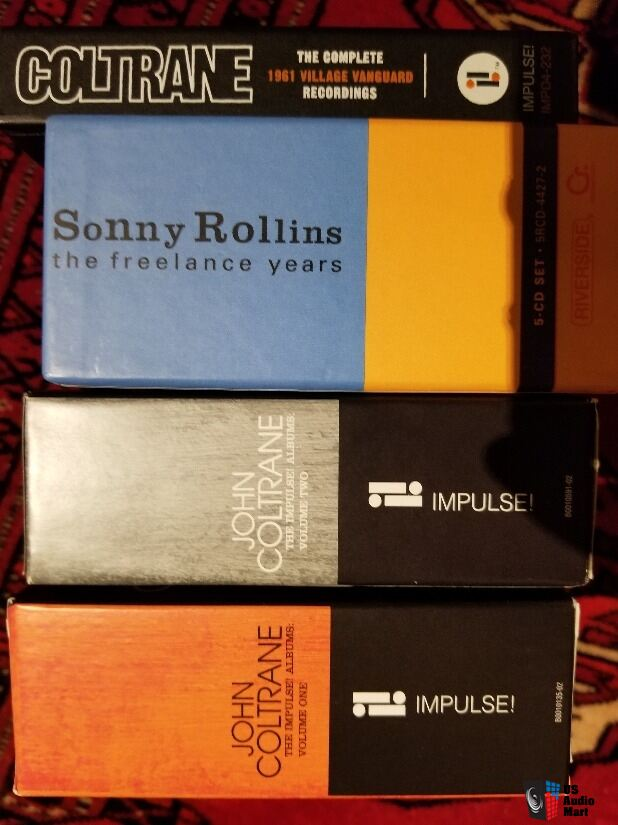 Coltrane and Rollins boxed sets!