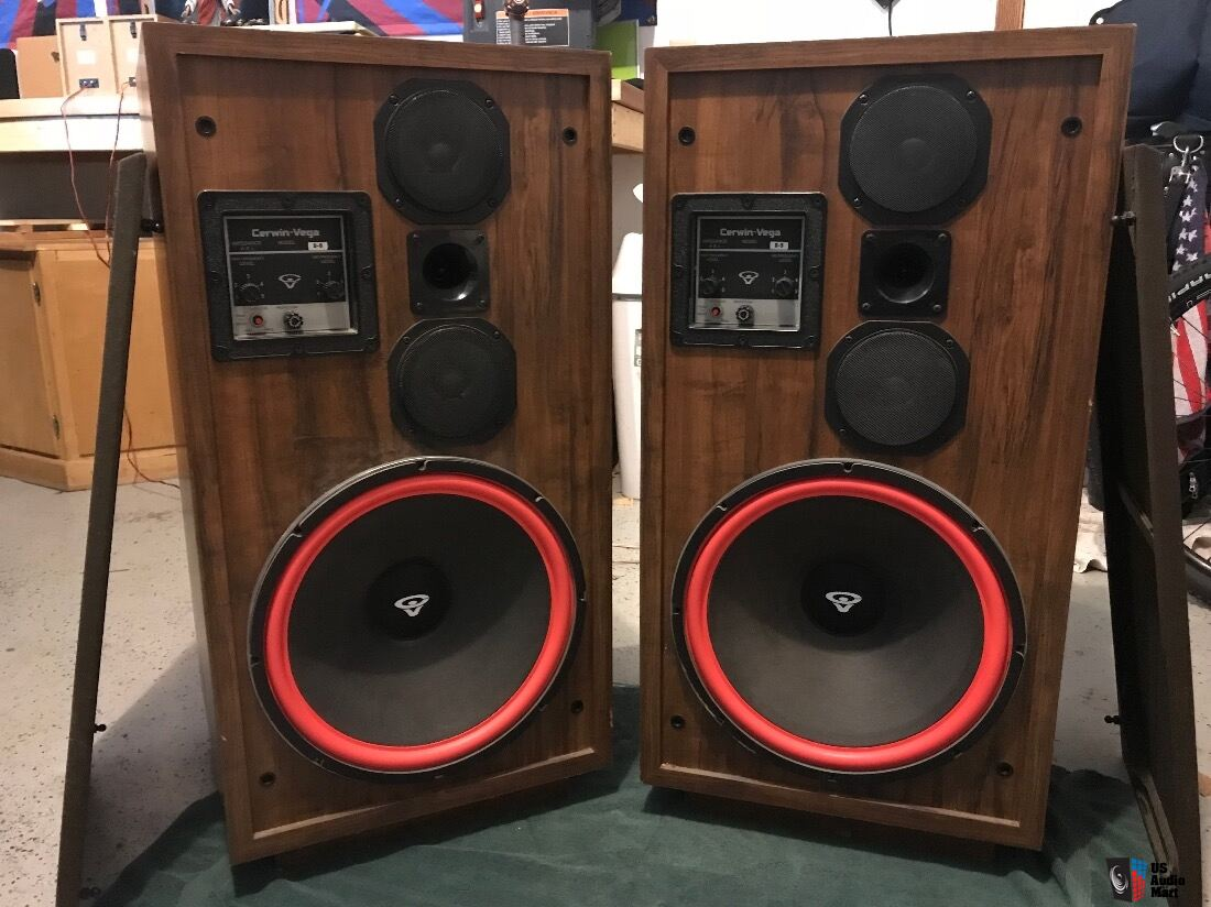 Cerwin Vega D9 Speakers Photo 1731516 Us Audio Mart