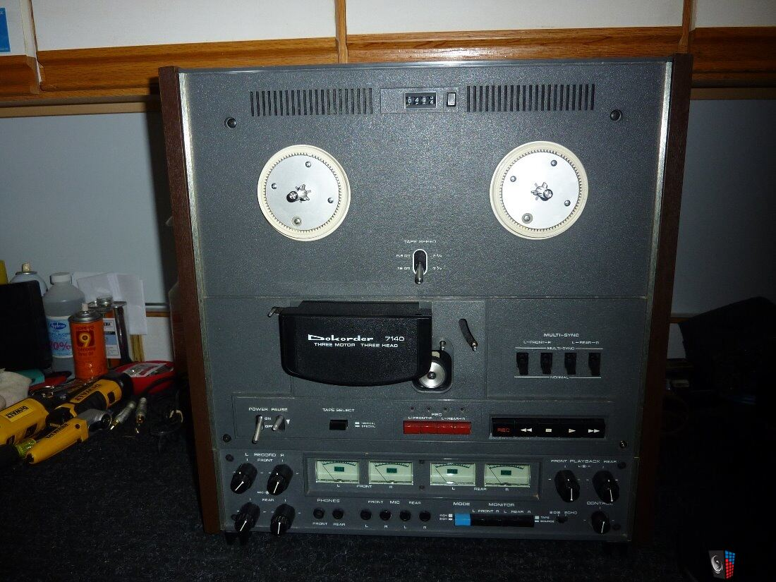 Dokorder 7140,2 or 4 channel recorder