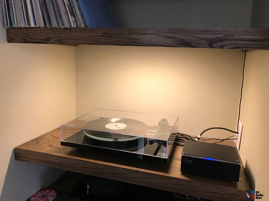 Rega P3 (new version) with Sumiko Blue Point #2 and Lounge phono stage