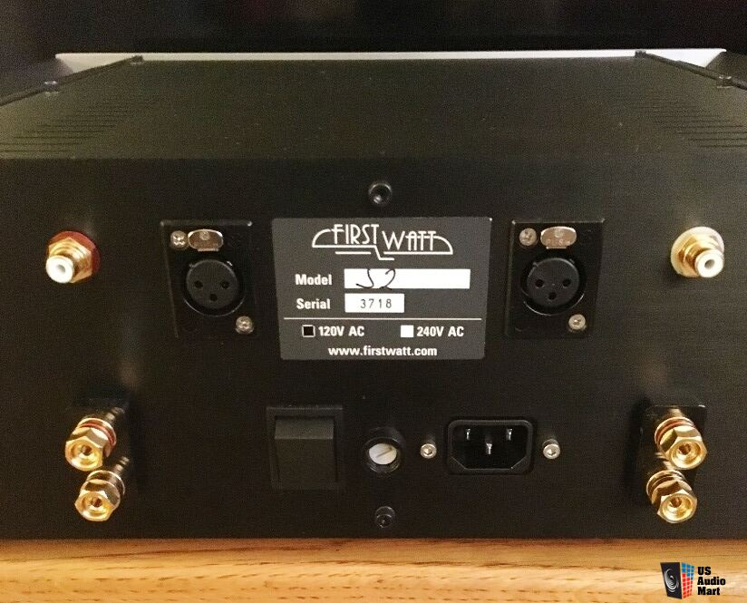 FIRST WATT J2 Single-Ended Class A Stereo Amplifier Photo