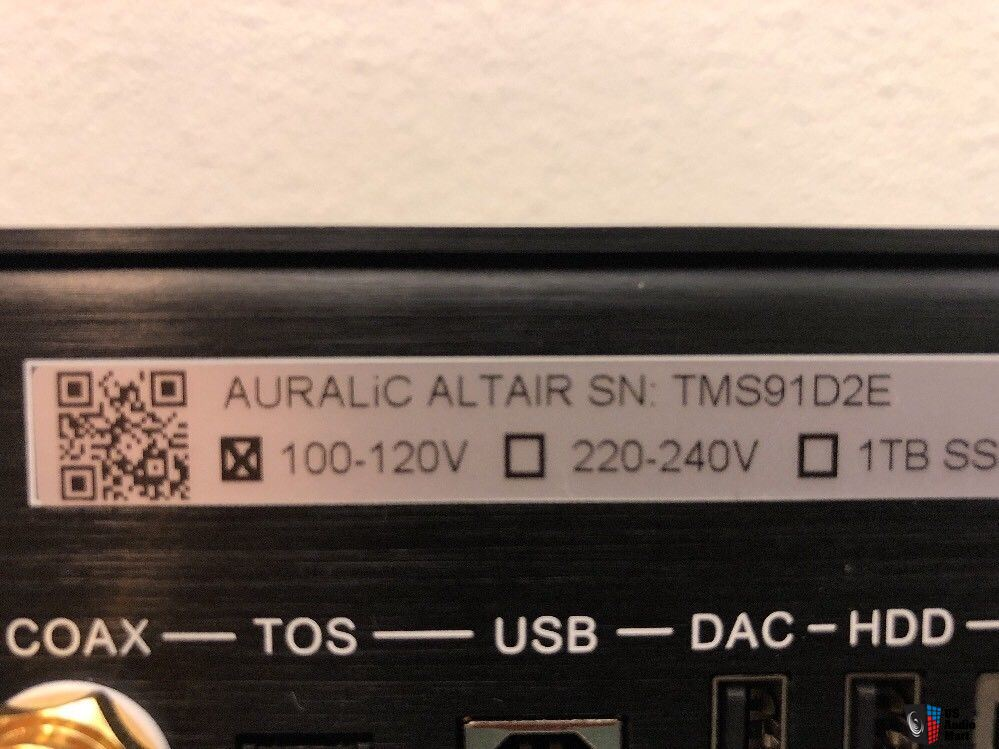 INCLUDES 500GB SSD *** Auralic Altair - Music Server, Streamer, and