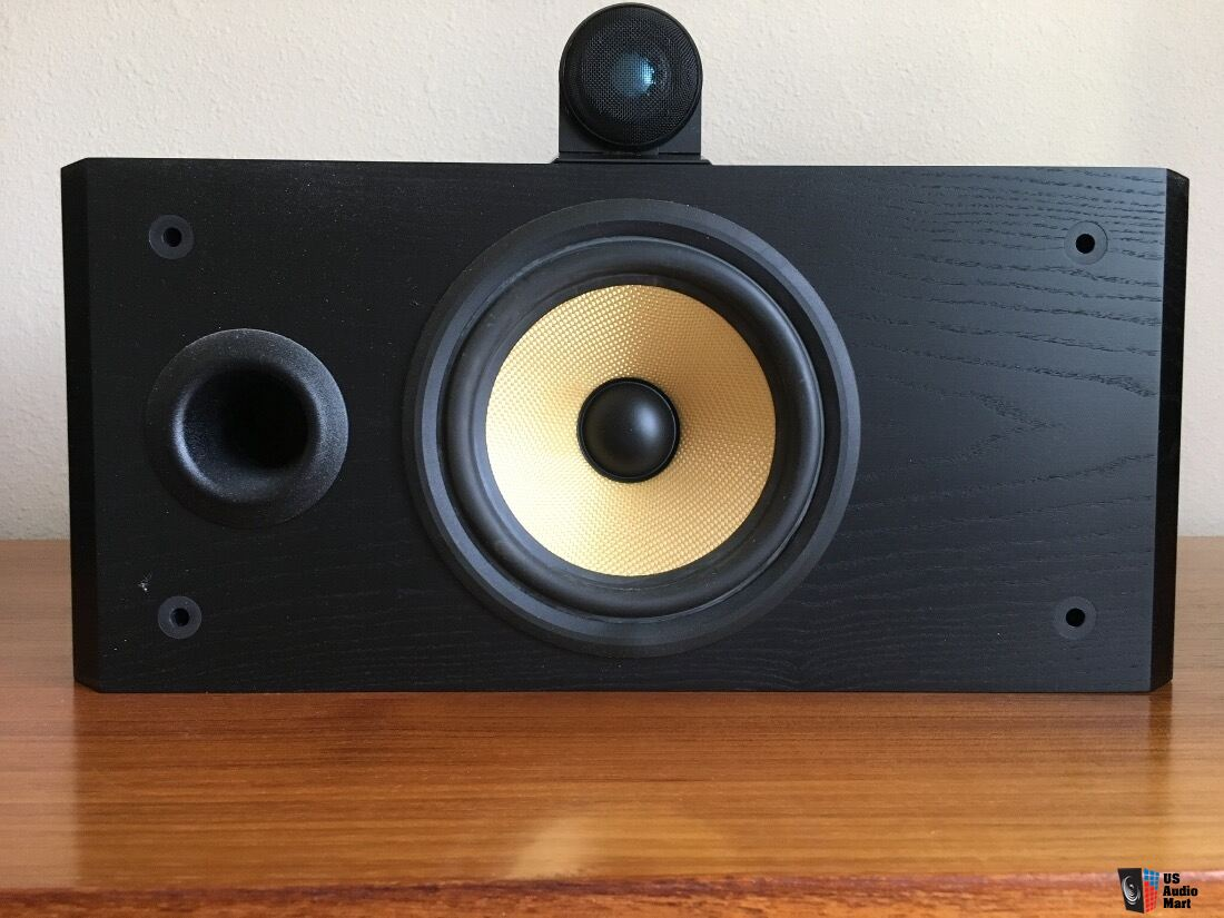 B&W 805 Matrix Speakers Black Ash. Two vertical and one