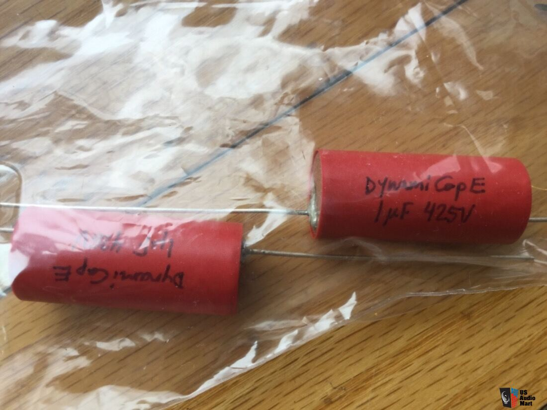 Dynamicaps 1 uf 425 V electronic capacitors NEW ONE matched