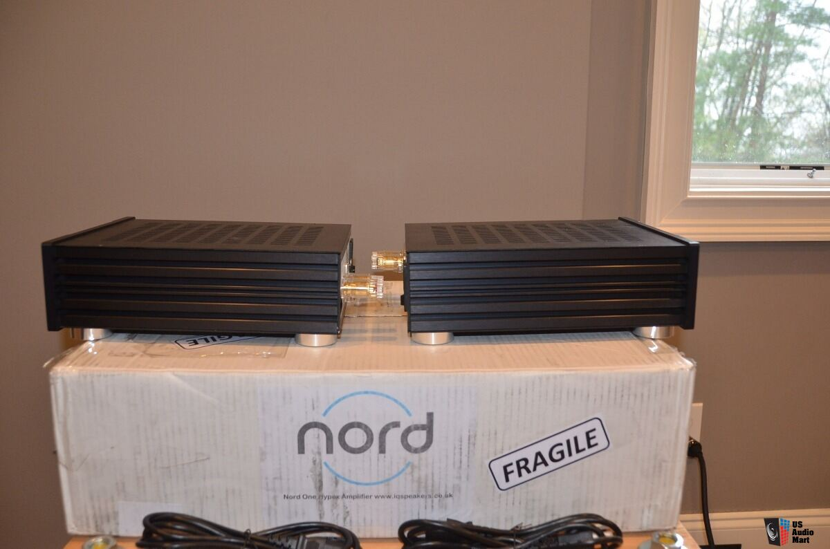 Nord OneUp Monoblock Amplifier Pair - Hypex NCore NC500