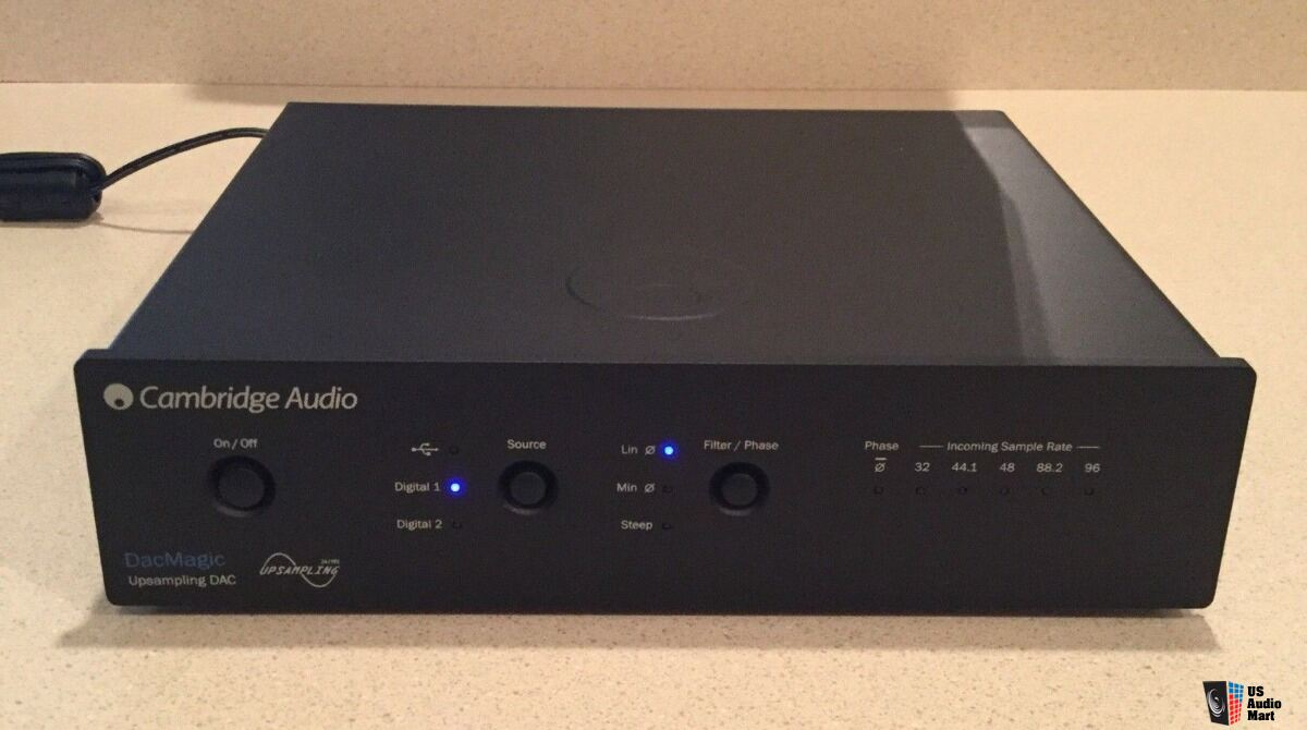 cambridge audio dacmagic upsampling dac 24bit 192khz w original box rh canuckaudiomart com cambridge audio dacmagic 2 service manual cambridge audio dacmagic plus manual pdf