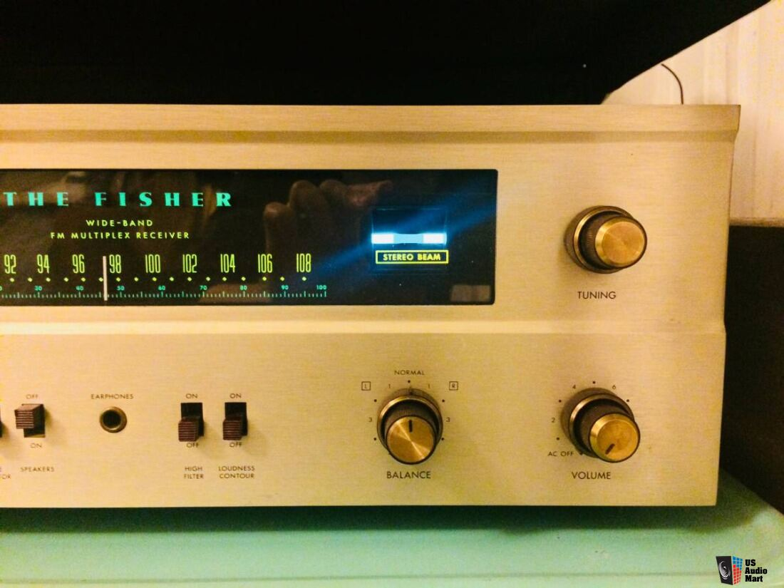 Vintage Fisher 400 Tube Receiver, Fully Restored/Aligned, Plug & Play