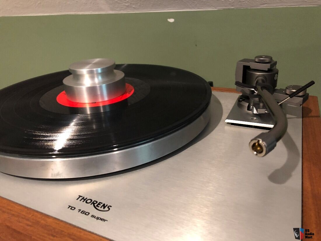 Thorens TD 160 Super Reproduction by Vinyl Nirvana with