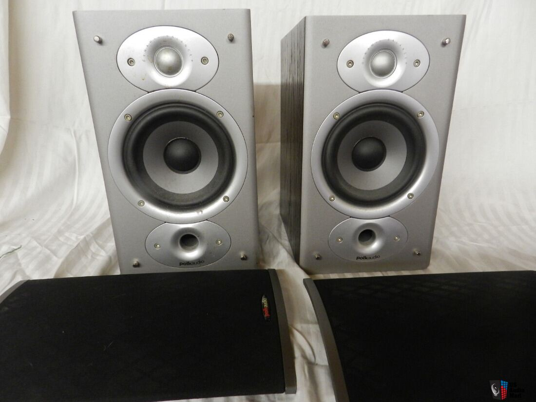 Polk RTi4 Bookshelf Speakers