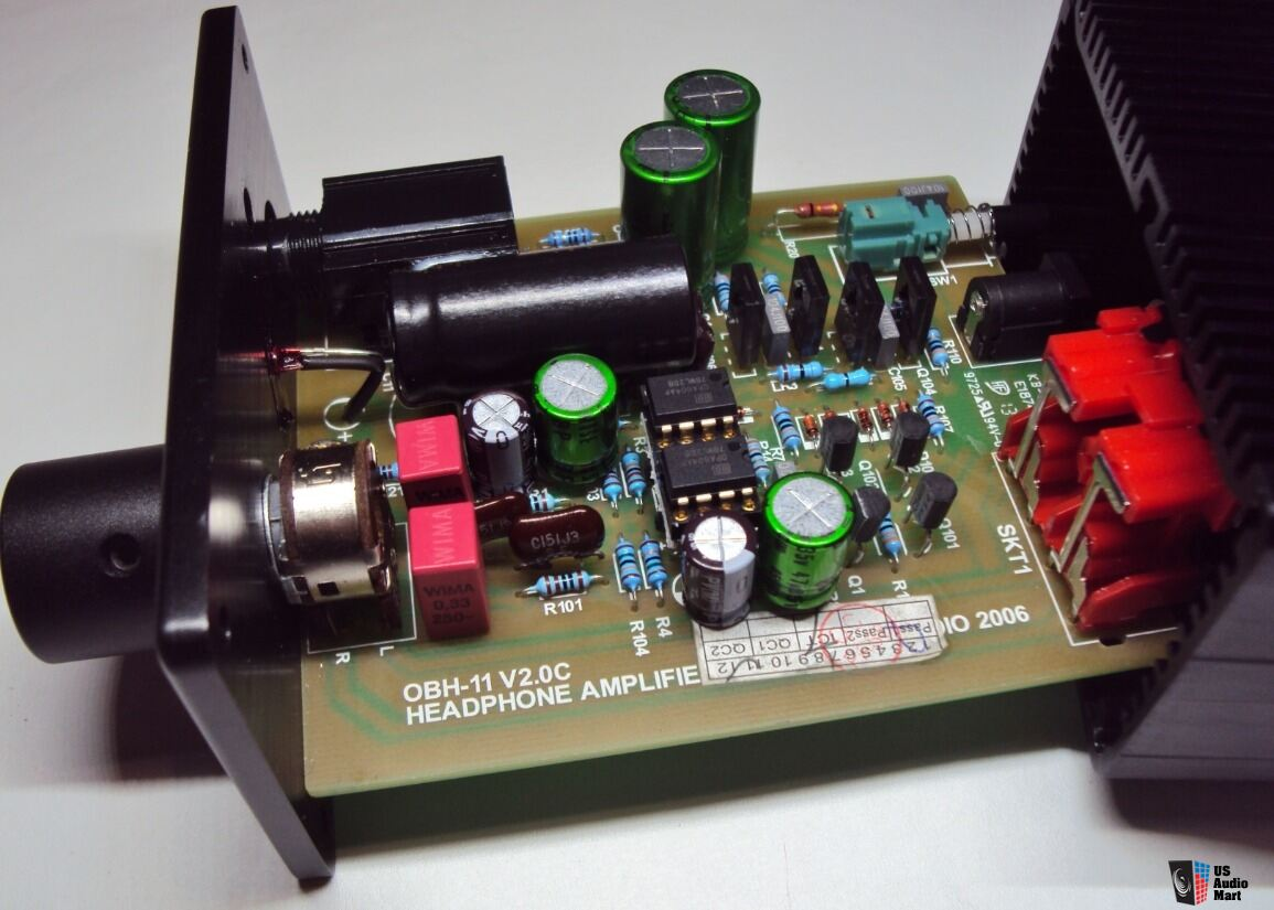 Professionally Modified Creek Obh 11 Headphone Amp New High Current Power Supply
