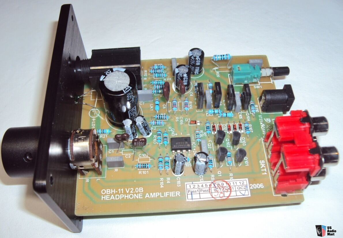 Reduced Professionally Modified Creek Obh 11 Headphone Amp W New High Current Power Supply