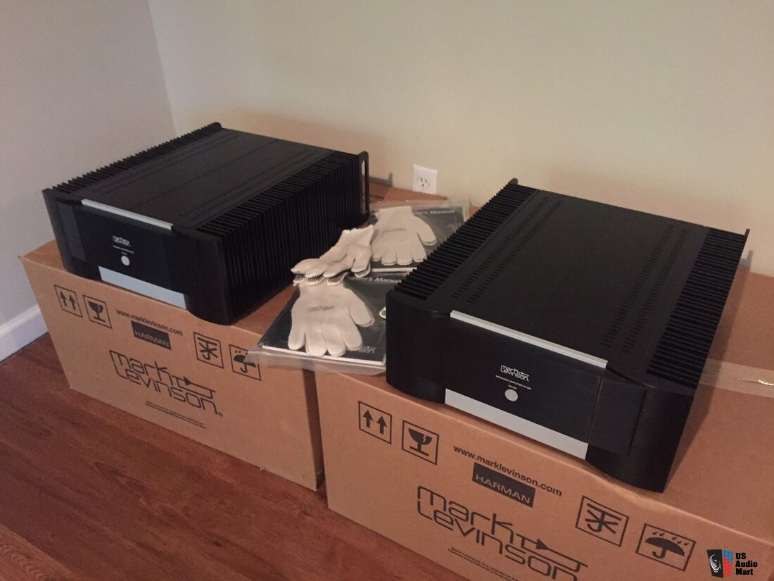 Mark Levinson No  536 Monoblock Amplifiers - Pair Photo