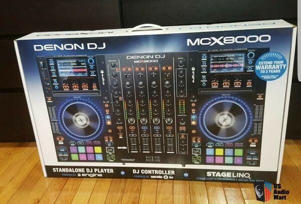 Brand New Denon DJ MCX8000 | Standalone DJ Player and Serato