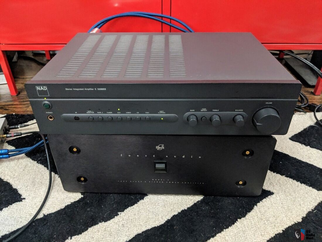 NAD C320BEE Integrated Amplifier - Upgraded throughout