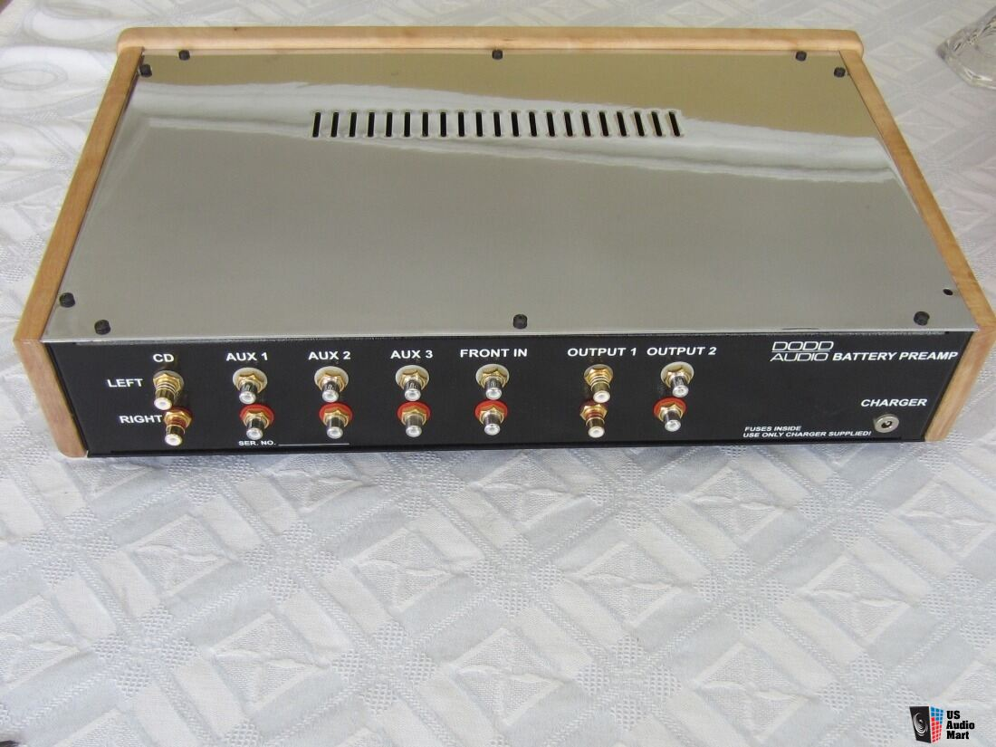 Dodd Audio Battery Powered Tube Linestage Preamplifier handbuilt by