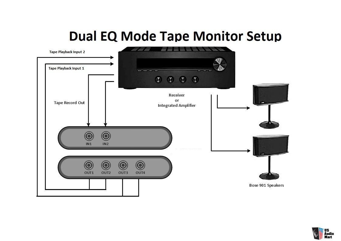 EQ901B-V/VI Upgrade Replacement for BOSE 901 Series V/VI