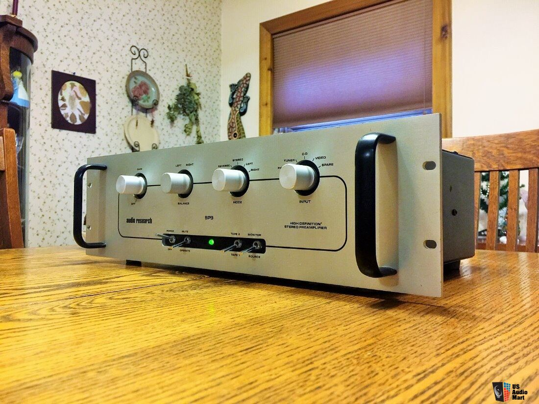 Audio Research Sp 9 Mki Stereo Tube Preamp With Phono
