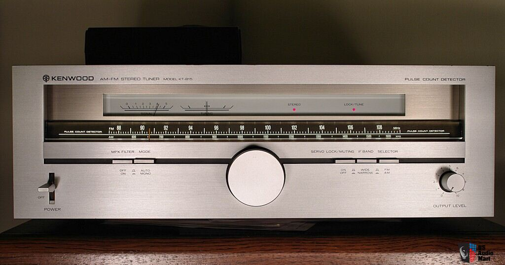 Kenwood KT-815 Tuner w/DX and Audio Mods Photo #457463 - US Audio Mart